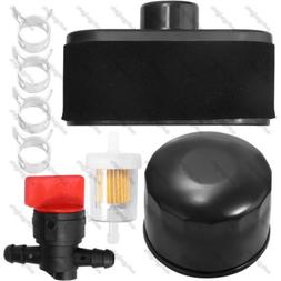 11013-7047 Air Filter W/Oil Filter Valve Clamp For Kawasaki