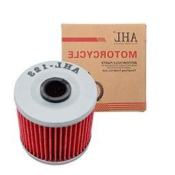 AHL 123 Oil Filter for Kawasaki KLF300 Bayou 4X4 300 1989-20