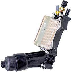 APDTY 133933 Engine Oil Filter Cooler Adapter Housing Assemb