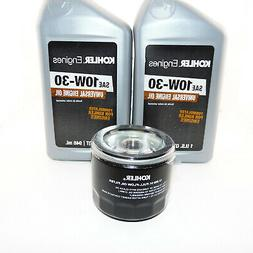 2qts. Kohler Engine Oil & Oil filter Kit 25 357 06 & 12 050