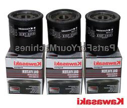 3 GENUINE KAWASAKI OIL FILTER S, 49065-7010, 490657010, 4906