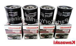 4 GENUINE KAWASAKI OIL FILTER S, 49065-7010, 490657010, 4906