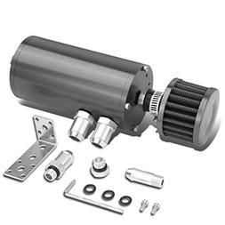 "5.5"" x 2.36"" Universal Aluminum Anodized Engine Oil Catch Ta"