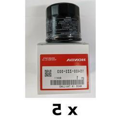 5 Pack of 15400-ZZ3-003 Honda Marine Oil Filters 8 thru 60 H