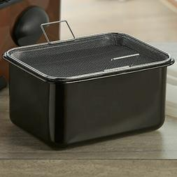 BrylaneHome 5-Qt. Oil Tank With Filter