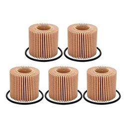 YOUNAR 5PCS 04152-YZZA6 04152-37010 Engine Oil Filter For TO