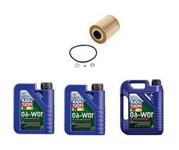 7 Liters Liqui Moly Race Tech 10W-60 Synthetic Motor Oil & 1
