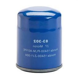 Oregon 83-302 Oil Filter Replaces 15400-PLM-A01PE, 15400-ZJ1