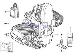 BMW Genuine OIL Filter Change Repair kit R1100GS R1100R R110