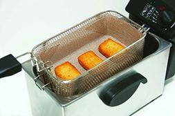 Deep Fryer FILTER - Reusable - Non-Stick - Use your oil 3 x