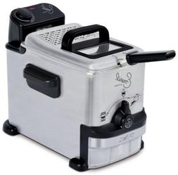 Emeril by T-fal FR702D 1.8-Liter Deep Fryer with Integrated