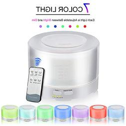 RHX Aromatherapy Diffusers 700ml Ultrasonic Essential Oil Di