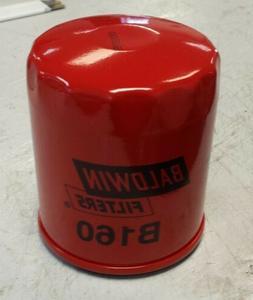 BALDWIN FILTERS B160 Oil Filter, Spin-On, Full-Flow