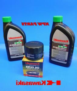 Kawasaki Engine Oil Change Kit 10W40 - 49065-7007 Oil Filter