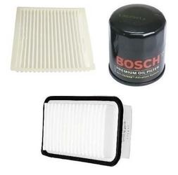 Engine Oil Filter & Cabin Air Filter OPParts Bosch Toyota Ec