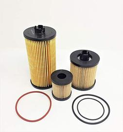 Ford Powerstroke 6.0L Diesel Oil Filter Fuel Filter 03-07 Pu