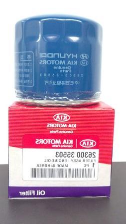 Genuine Kia 26300-35503 Oil Filter