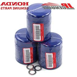 Genuine Honda / Acura Engine Oil Filter + Washers 15400-PLM-