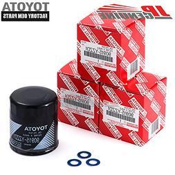 Genuine OEM Toyota Oil Filter + Drain Plug Gasket 90915Yzzd1
