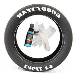 Tire Stickers Goodyear Eagle F1 - DIY Permanent Rubber Tire