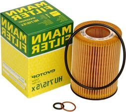 Mann-Filter HU 715/5 X Metal-Free Oil Filter