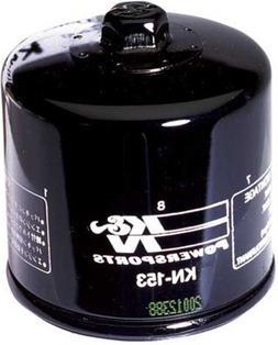 K&N Oil Filter - Cagiva, Ducati  - Black - KN-153