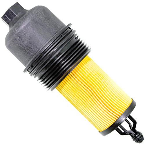 APDTY 133940 Filter Cooler Complete Kit Sensors, Bypass Spring, Filter & All 2014-2017 Dodge Jeep V6