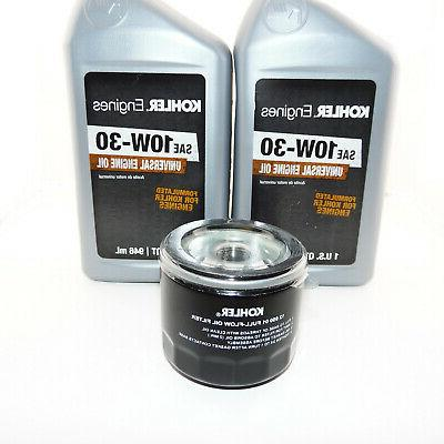 2qts engine oil and oil filter kit