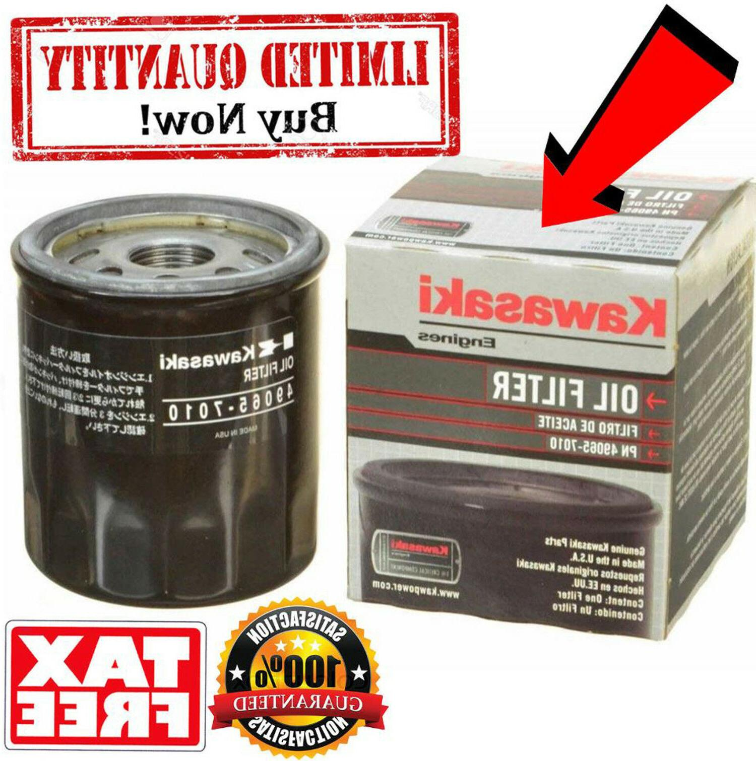 Kawasaki 49065-7010 Oil Filter for Mule 610 XC Scag Toro Cub