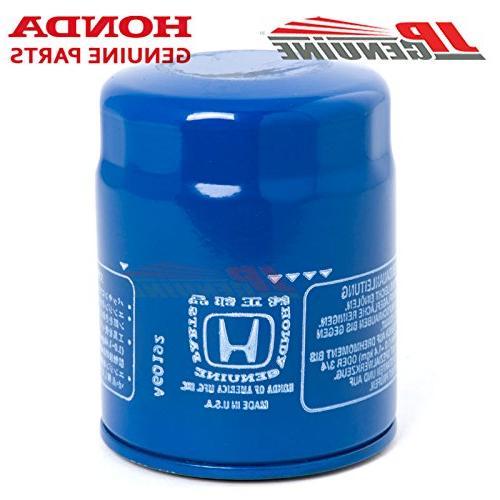 Honda / Genuine OEM Engine Oil Filters + Drain Washers - Set 15400-PLM-A02