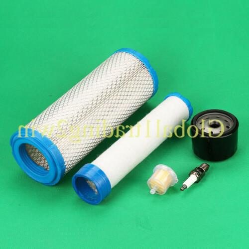 Air Fuel Oil Filter Kit For Kawasaki FX651V FX681V FX691V FX