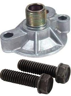 chevy oil filter adapter with bolts