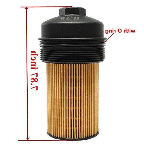 iFJF EC781 Oil Filter Cap Filter Ford 6.0L F250 F350 Super