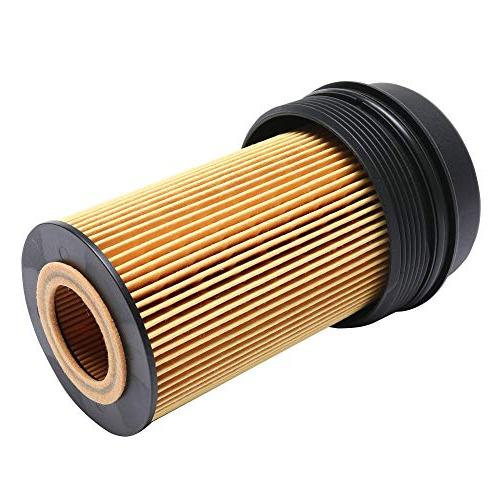 iFJF EC781 Oil Filter Cap Oil Filter for 2003-2007 6.0L Super 2003-2005 1840754C91 3C3Z-6766-CA