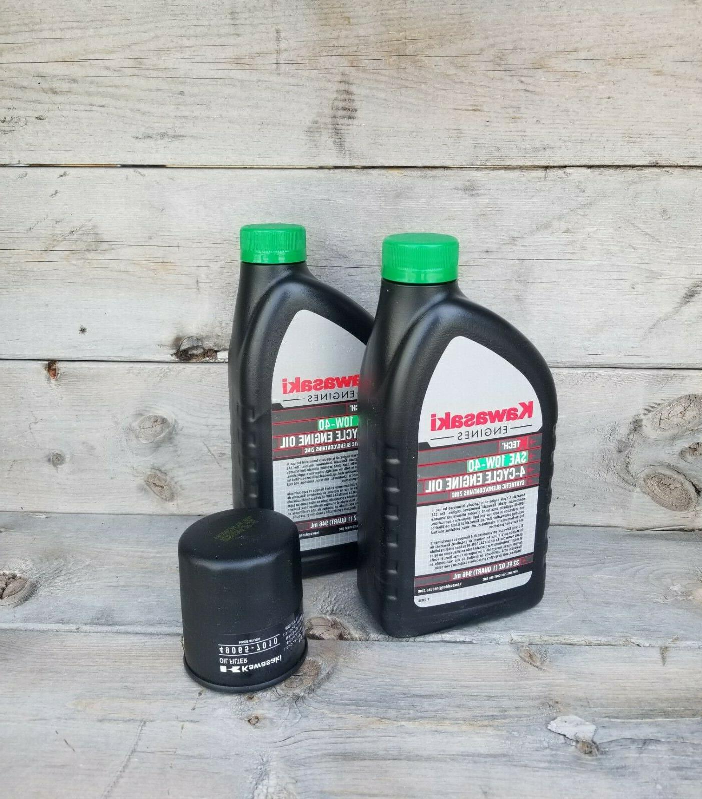 Kawasaki Engine Oil Change Kit   FREE SHIPPING