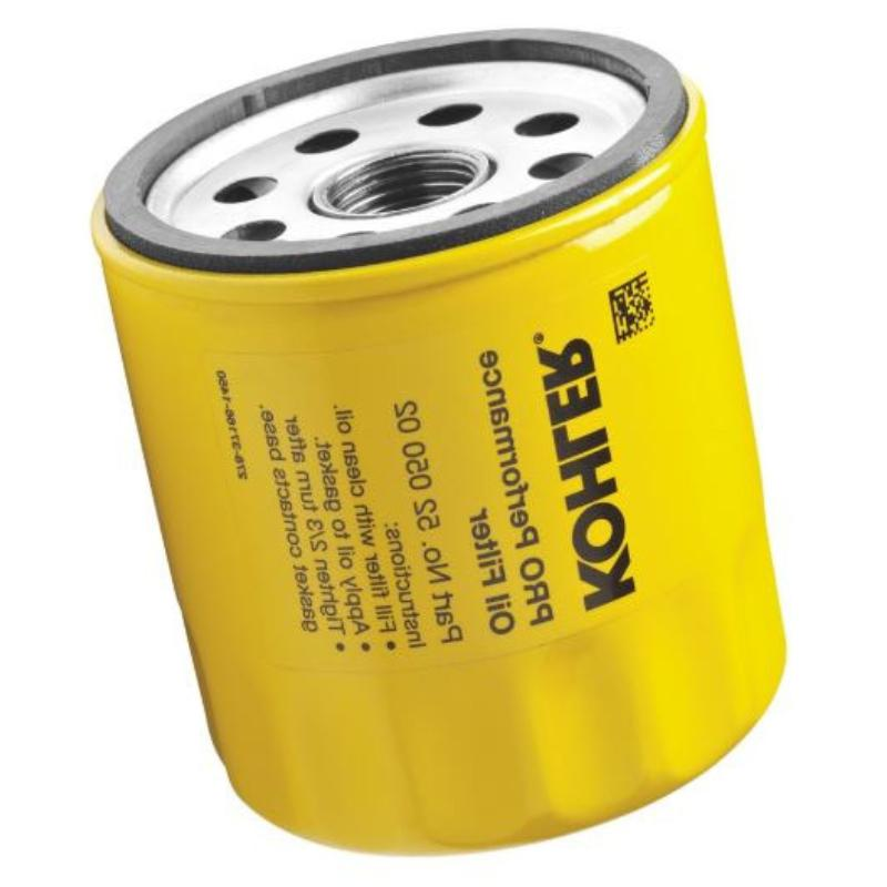 extra capacity engine oil filter lawn mower