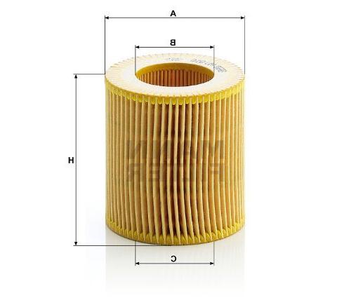 filter hu 816 x metal free oil