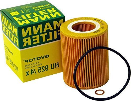 filter hu 925 4 x metal free