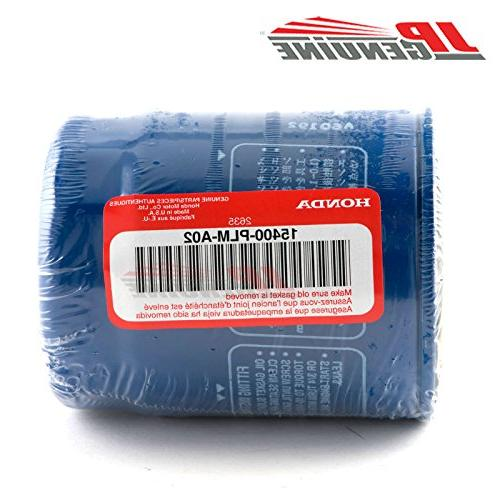 Honda Genuine OEM Engine + Drain Set 5 15400-PLM-A02