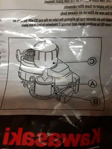 Genuine Kawasaki Filter Assembly 11029-0019