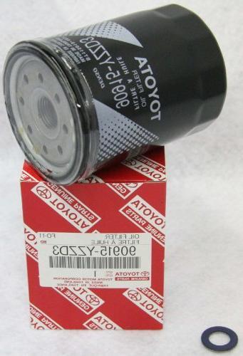 genuine parts 90915 yzzd3 oil filter