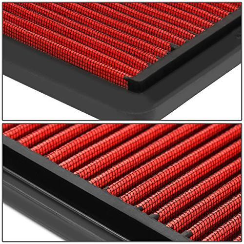 For Honda Reusable High Flow Drop-in Air Filter