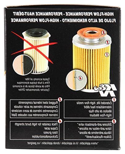 K&N Gold Oil Filter