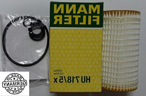 Mann-Filter HU 718//5 X Metal-Free Oil Filter