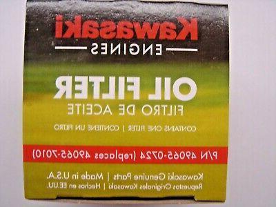 kawasaki oem original oil filter 49065 7010