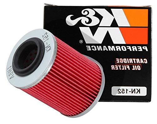 kn 152 powersports oil filter