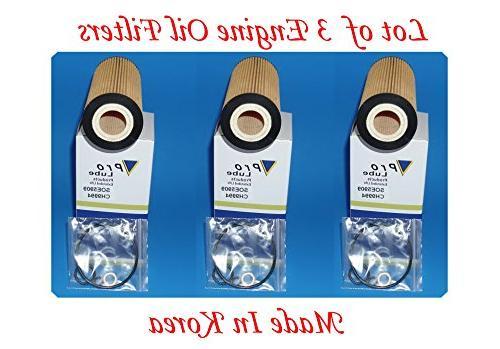 lot of 3 engine oil filter soe5909
