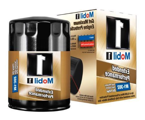 m1 302 extended performance oil filter pack