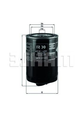 oc 51 of engine oil filter