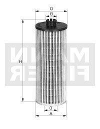 MANN Oil Filter HU6018Z